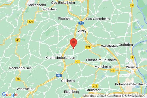 Karte Ilbesheim