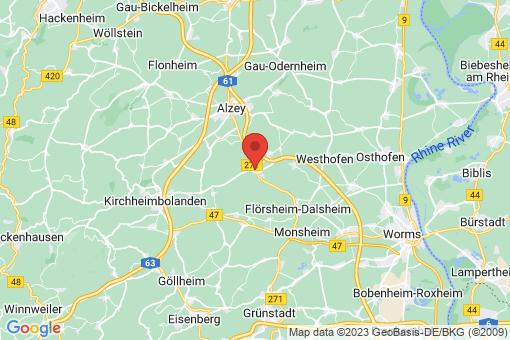 Karte Flomborn