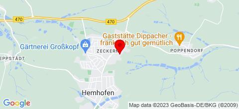 Google Map für Ferienwohnung Vicky