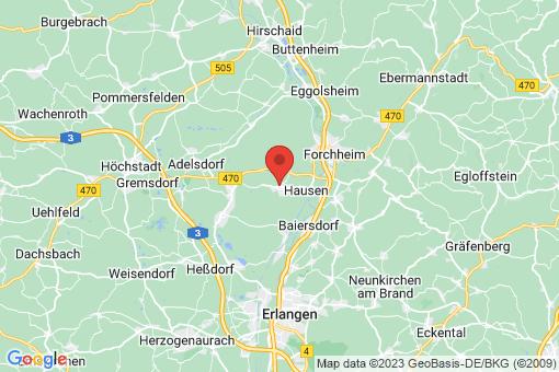 Karte Heroldsbach