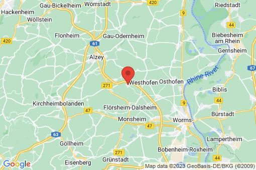 Karte Gundersheim
