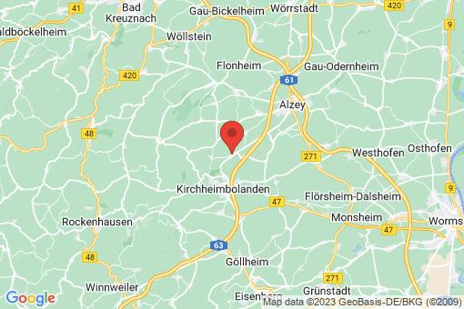Karte Morschheim