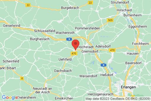 Karte Lonnerstadt