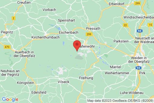 Karte Grafenwöhr