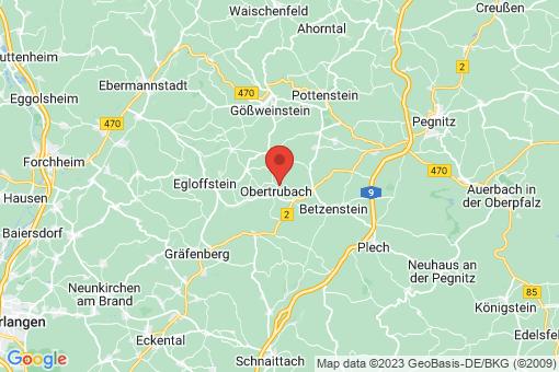 Karte Obertrubach