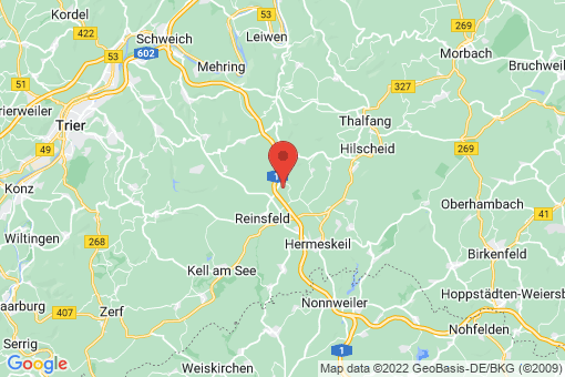 Karte Hinzert-Pölert