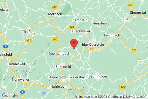 Karte Wilzenberg-Hußweiler