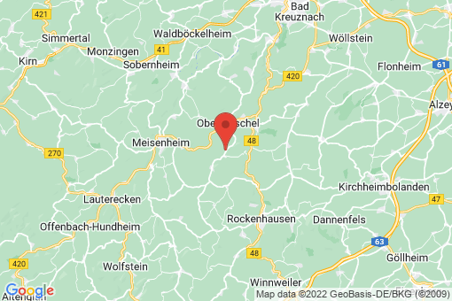 Karte Schiersfeld