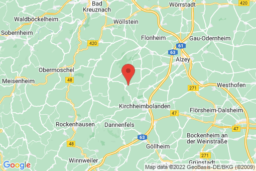 Karte Oberwiesen