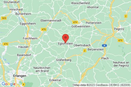 Karte Egloffstein