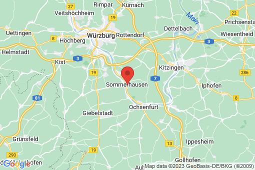Karte Sommerhausen