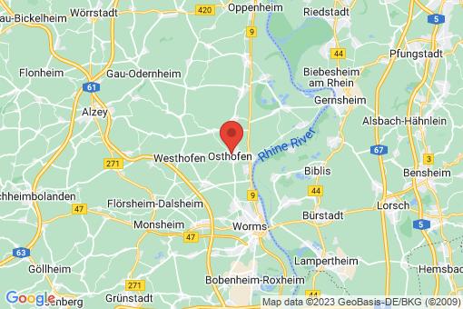 Karte Osthofen