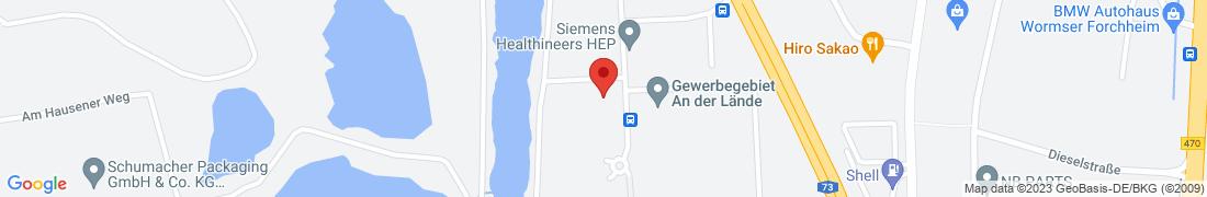 BayWa Tankstelle Forchheim Anfahrt