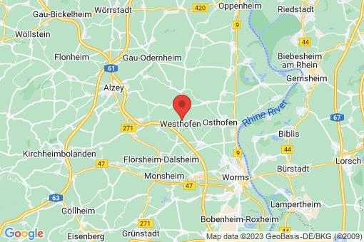 Karte Westhofen