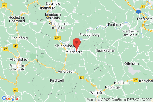 Karte Miltenberg