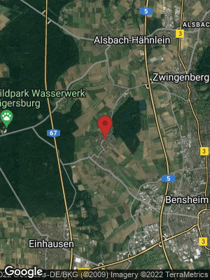Google Map of Fehlheim