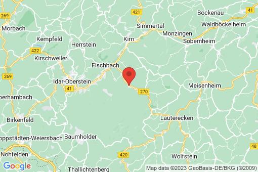 Karte Oberreidenbach