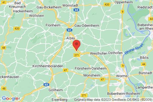 Karte Dintesheim