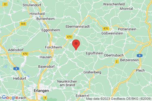 Karte Leutenbach