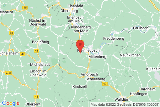 Karte Rüdenau
