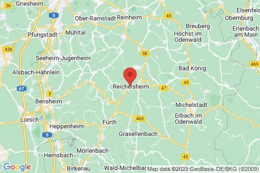 Karte Reichelsheim