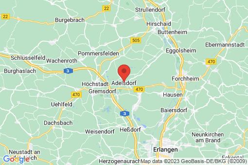 Karte Adelsdorf