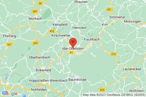 Karte Idar-Oberstein