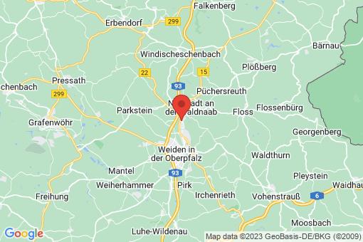 Karte Altenstadt an der Waldnaab
