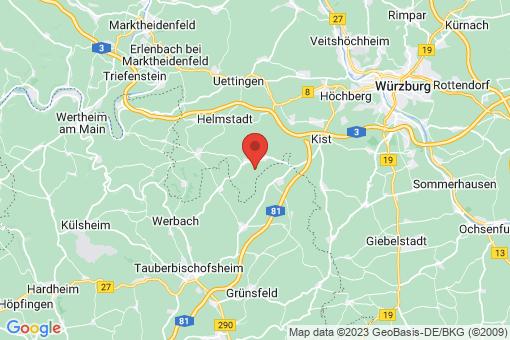 Karte Altertheim