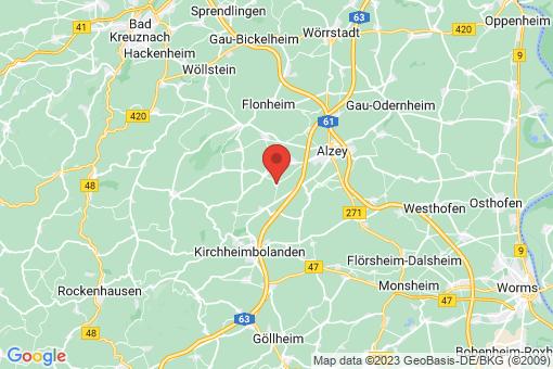 Karte Mauchenheim