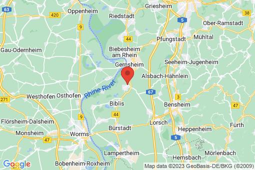 Karte Groß-Rohrheim
