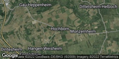 Google Map of Hochborn