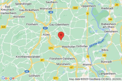 Karte Hochborn
