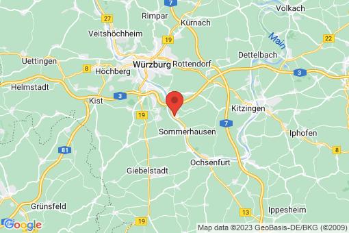 Karte Eibelstadt
