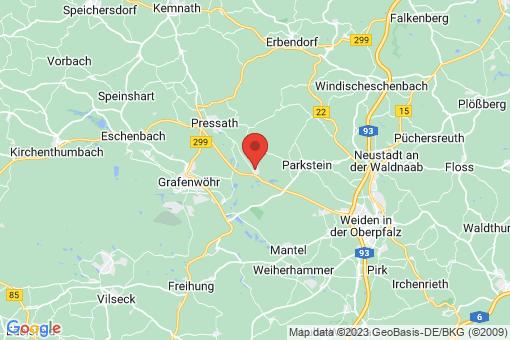Karte Schwarzenbach
