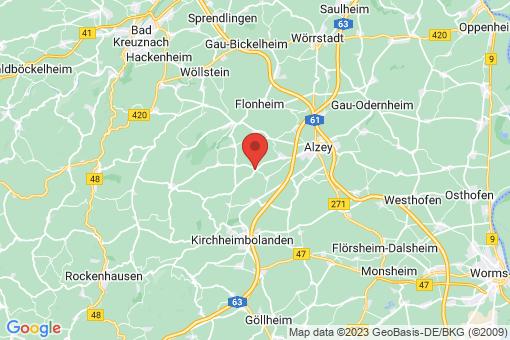Karte Offenheim
