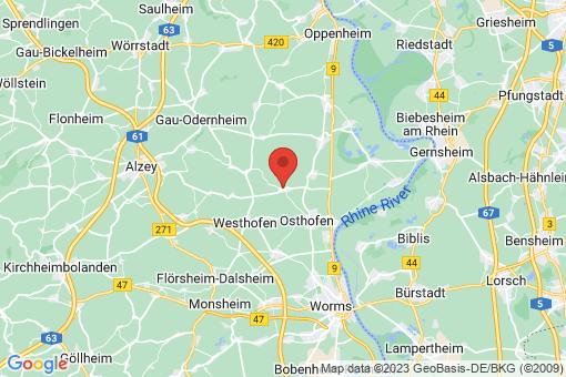 Karte Bechtheim