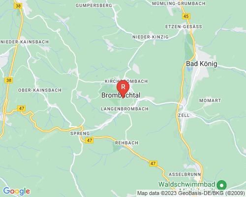 Google Karte von Rohrreinigung Brombachtal