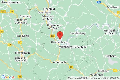 Karte Großheubach