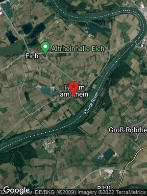 Google Map of Hamm am Rhein