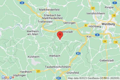 Karte Neubrunn