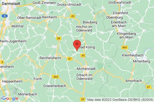 Karte Brombachtal