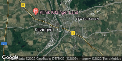 Google Map of Kitzingen