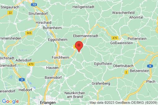 Karte Kirchehrenbach
