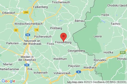Karte Flossenbürg