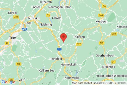 Karte Beuren (Hochwald)