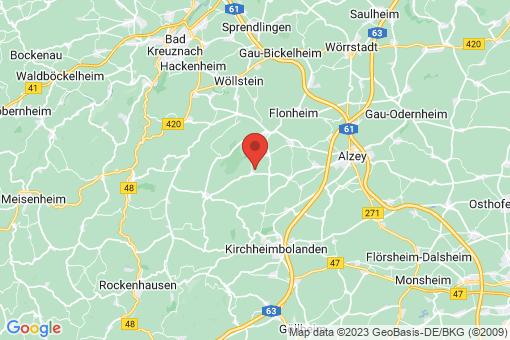 Karte Nieder-Wiesen