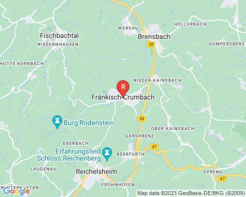 Google Karte von Rohrreinigung Fränkisch-Crumbach
