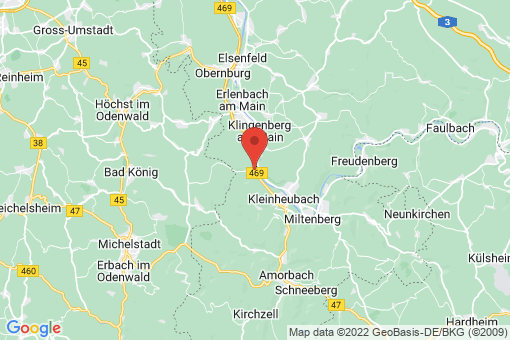Karte Laudenbach