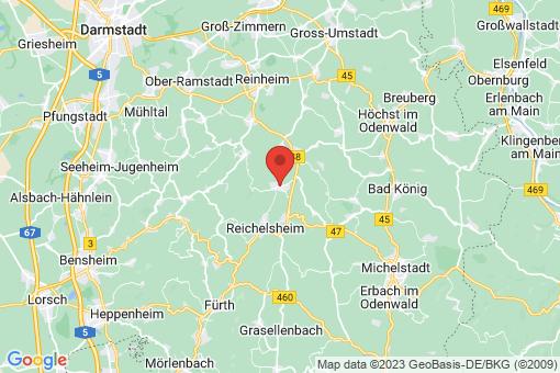 Karte Fränkisch-Crumbach
